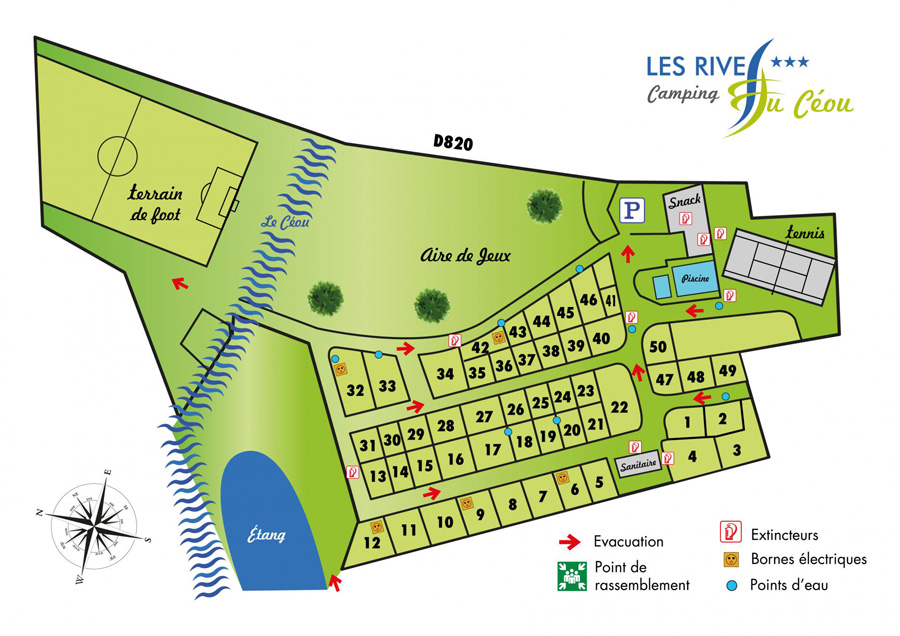 plan camping rives du ceou